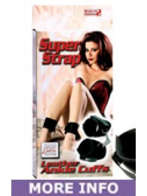 Super Strap Leather Ankle Cuffs