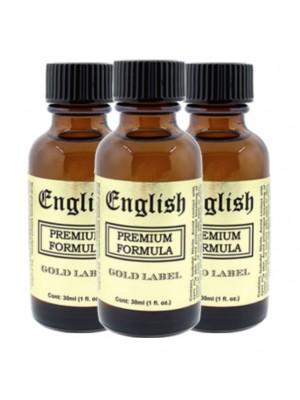 English Gold Premium 3-Pack (10ml. bottle)